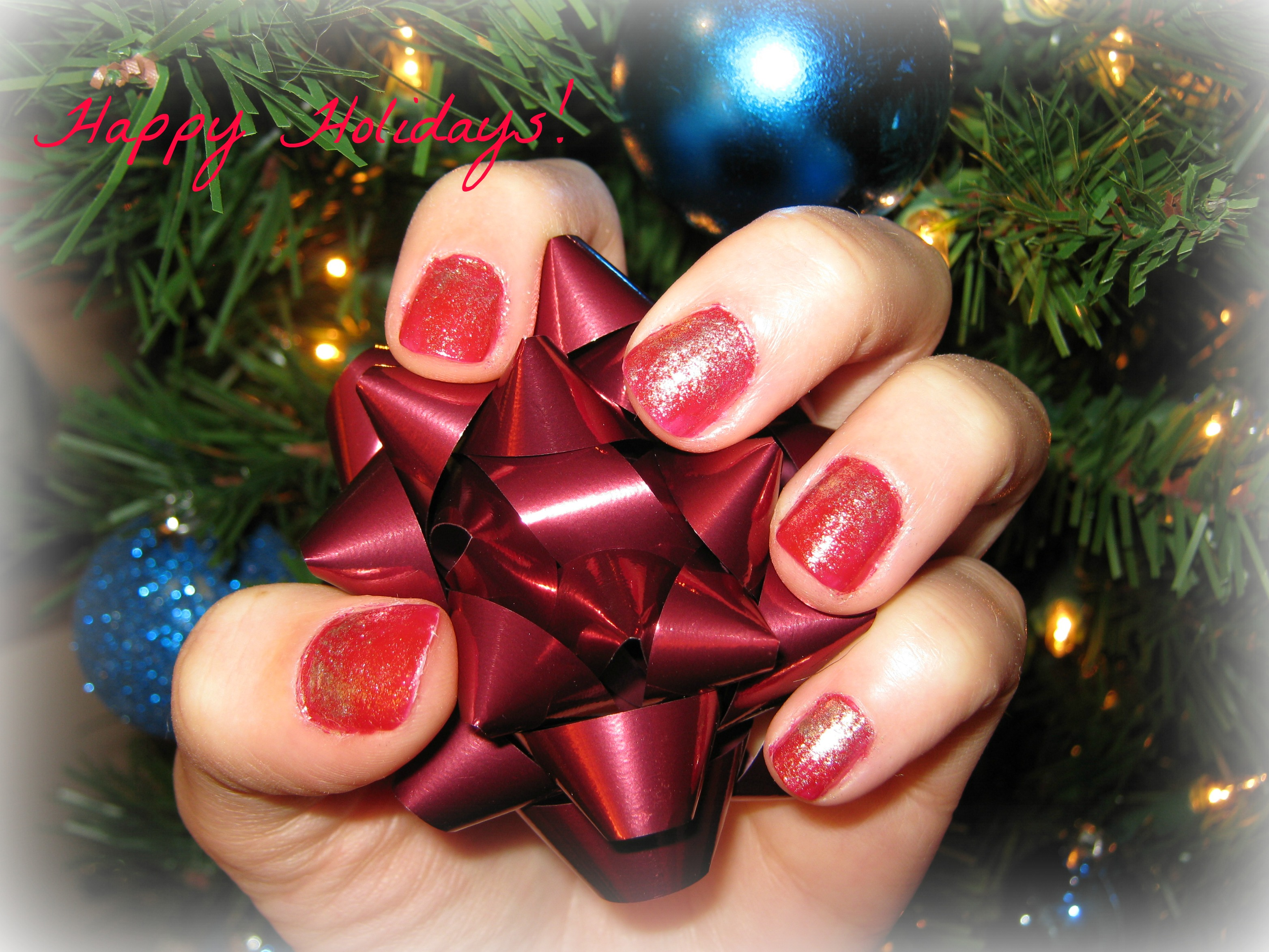 Red Ombre Nails Christmas.Ombre Nails Diyopolis