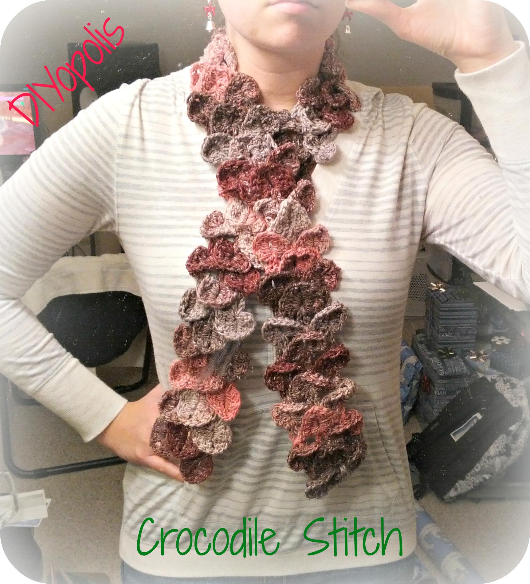 crocodile stitch | diyopolis