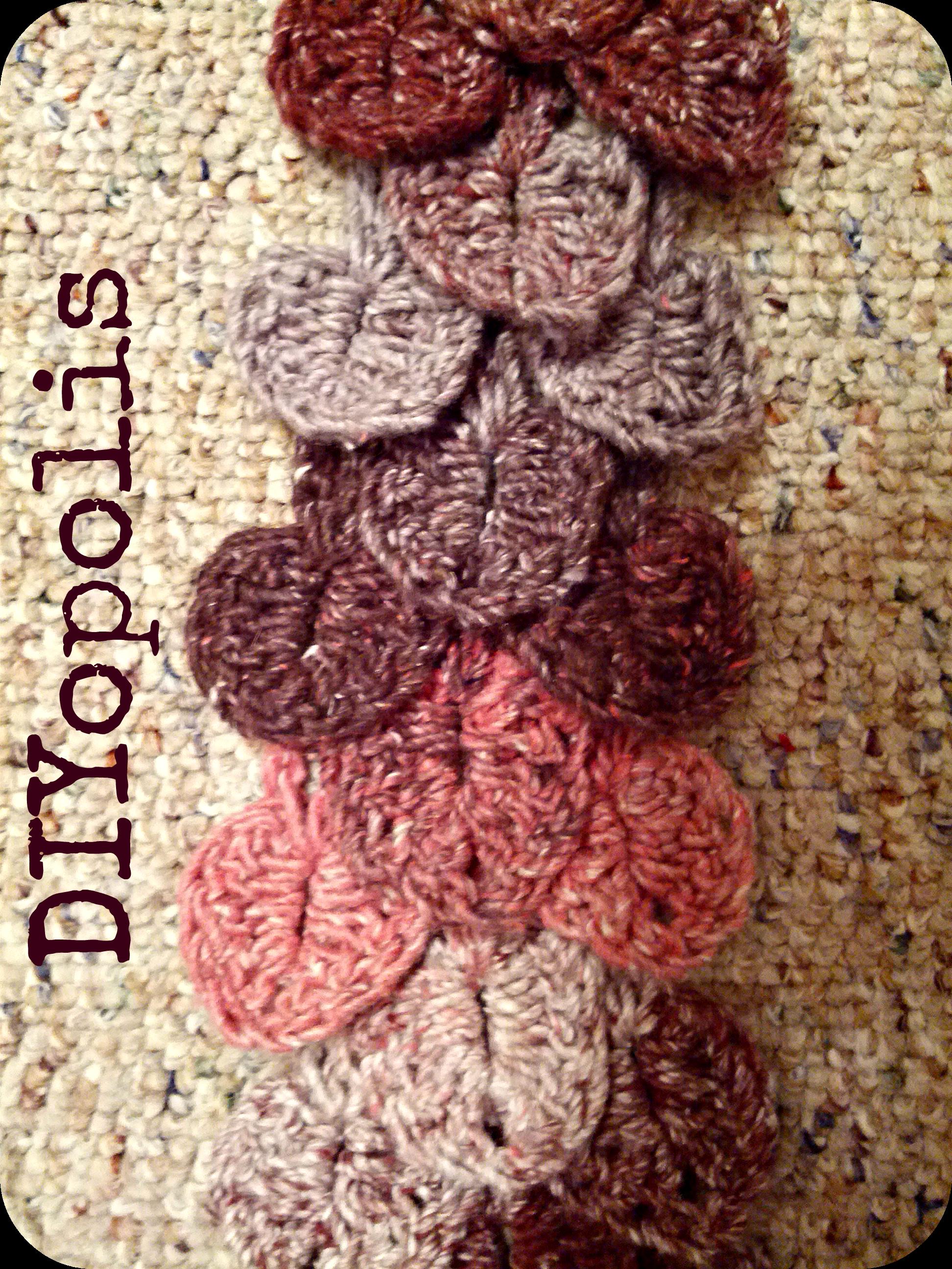 Crochet Crocodile Stitch Scarf diyopolis